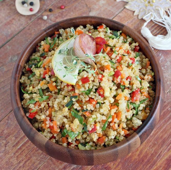 Kínóa salat